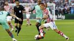 Eurocopa 2016: Ivan Perisic se tiñó la bandera de Croacia - Noticias de real madrid