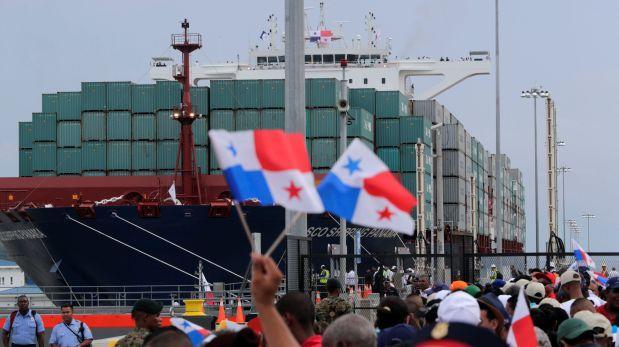 Panamá inaugura la ampliación de su centenario Canal