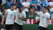 Alemania goleó 3-0 a Eslovaquia y avanzó a cuartos de la Euro