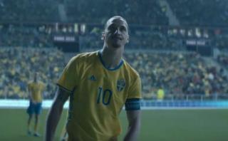 Ibrahimovic se despide de la selección sueca con emotivo spot