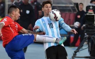 Lionel Messi solo perdió una vez contra la selección chilena