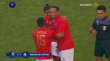 Con Ronaldinho, Cienciano goleó 3-0 a Sporting Cristal en Cusco