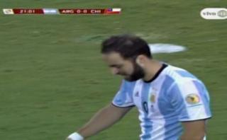 Gonzalo Higuaín se perdió gol de manera increíble [VIDEO]