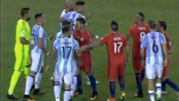 Copa América 2016: Mascherano y Vidal tuvieron conato de bronca