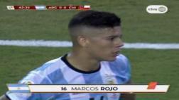 Argentina vs. Chile: mira la polémica expulsión a Marcos Rojo