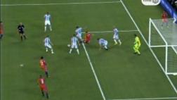 Chile pudo ganarle a Argentina en los 90' con esta jugada