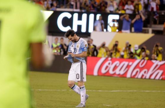 Lionel Messi: su rostro desencajado tras fallar su penal