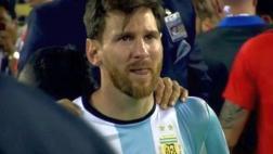 Lionel Messi y su llanto sin consuelo tras perder otra final