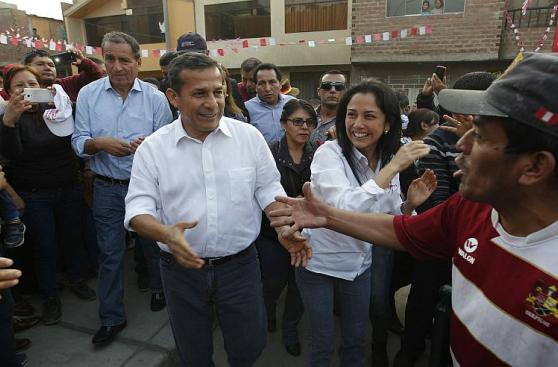 Humala en Huaycán: