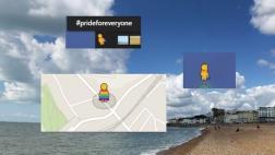 Google Maps y la colorida capa del muñeco de Street View
