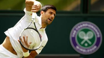 Novak Djokovic no tiembla en su debut en Wimbledon