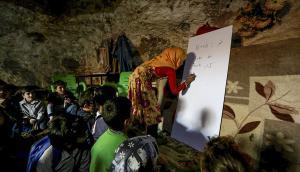 Siria: Las escuelas de miles de niños de un país en guerra