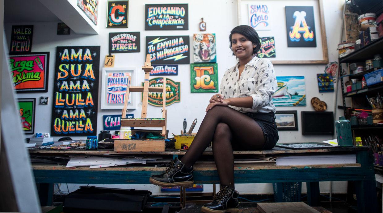 La diseñadora que encuentra inspiración en el caos de la ciudad