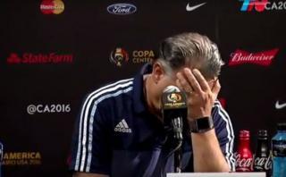 Frustrante reacción de Martino al ser consultado sobre Higuaín