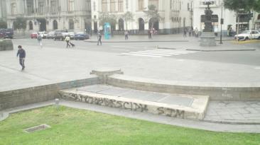 Lima atribuye deterioro de Plaza San Martín a recientes marchas