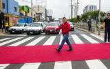 Facebook: alfombra roja en las pistas para crear conciencia