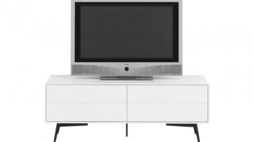 Seis muebles modernos ideales para lucir tu televisor