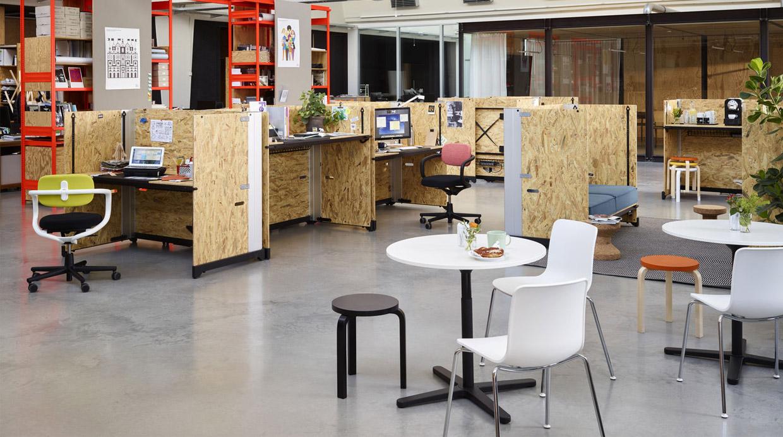 Hack la oficina moderna que se adapta a cualquier for Trabajar en oficinas de mercadona