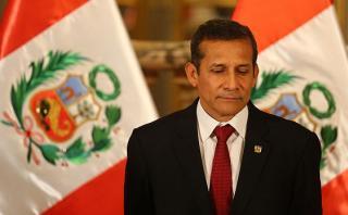 Ollanta Humala: aprobación presidencial llega a 15%, según GFK