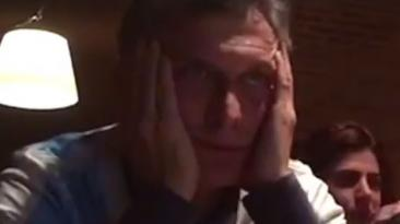 Los nervios de Macri durante la final Argentina - Chile [VIDEO]