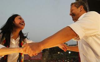 """Nadine a Humala: """"Gracias por tu trabajo. ¡Feliz cumpleaños!"""""""