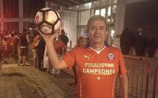 Lionel Messi: balón del penal errado lo tiene un hincha chileno