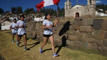 Chasquis corrieron más de mil kilómetros en dos semanas [FOTOS]