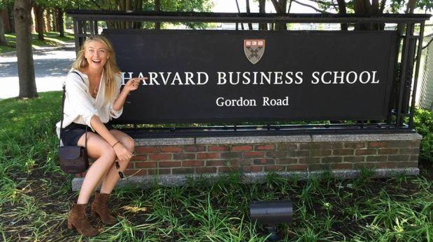 Maria Sharapova toma curso en Harvard durante suspensión
