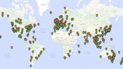 Google Maps: así festejó el mundo el Día del Orgullo Gay