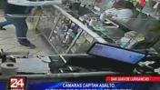 San Juan de Lurigancho: cámaras captan violento asalto a botica