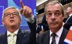 """Líder de la UE a antieuropeo británico: """"¿Qué haces aquí?"""""""