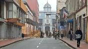 Cercado: cierre de calles por entrega de credenciales a PPK