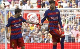 Lionel Messi: Piqué dedicó estas palabras a crack tras renuncia