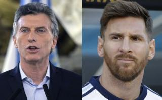 """Macri tras diálogo telefónico con Messi: """"Hay que cuidarlo"""""""