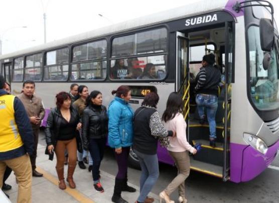Corredor SJL: Lima adelantó para hoy periodo de prueba