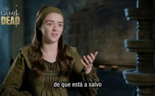 "Esto dijo Maisie Williams sobre final de ""Game of Thrones"""
