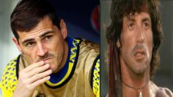 ¿Iker Casillas se va de la 'Roja'?: publicó una escena de Rambo