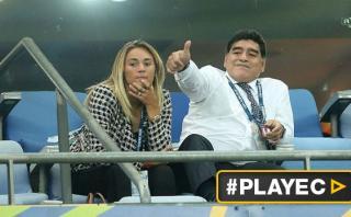 """Diego Maradona: """"Messi tiene que seguir en la selección"""""""