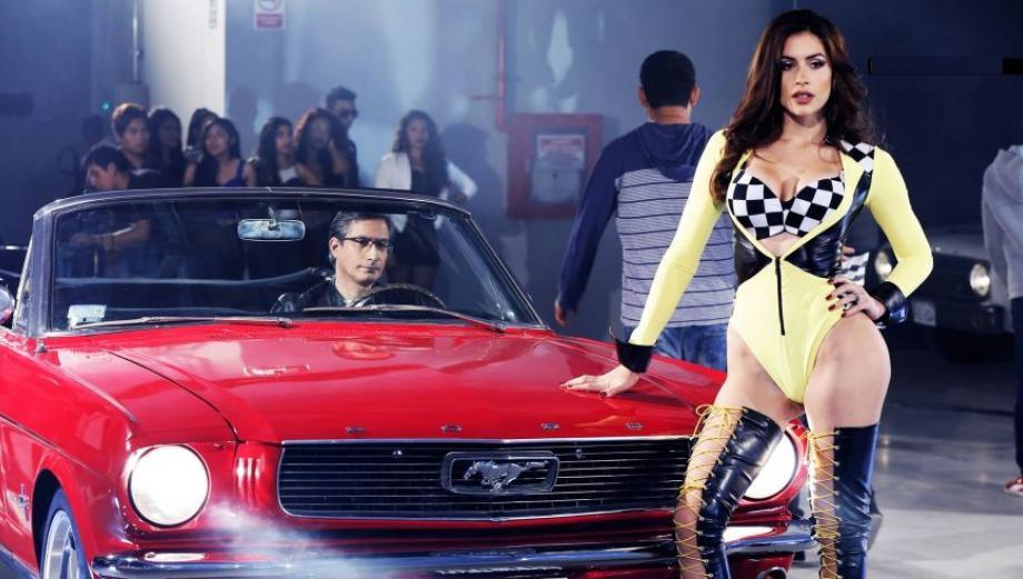 """Milett Figueroa en video al estilo """"Rápidos y furiosos"""""""
