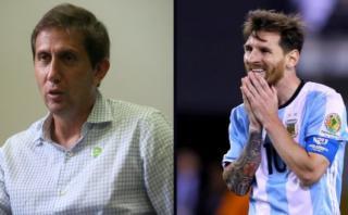 """Varsky y un texto """"desde las entrañas"""" sobre Lionel Messi"""