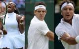 Wimbledon: Serena Williams, Del Potro y Mónaco ganaron