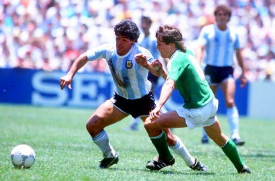 Argentina vs. Alemania: el partido final de México 86 en fotos