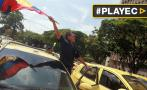 Colombia: taxistas exigen regular el servicio de Uber [VIDEO]