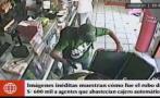 SJM: cámaras captan robo de 600 mil soles en cajero de farmacia