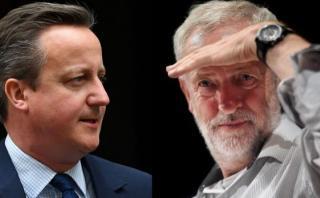 """Cameron reprocha a líder opositor: """"¡Por Dios, hombre, váyase"""""""