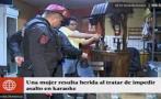 Callao: balean a mujer por enfrentarse a ladrones en karaoke