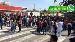 Chiclayo: estudiantes denuncian disparos durante plantón - Noticias de chiclayo