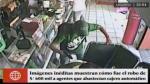 SJM: cámaras captan robo de 600 mil soles en cajero de farmacia - Noticias de