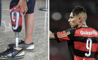 Paolo Guerrero inspira a hincha del Flamengo con prótesis