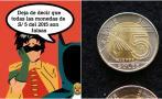 PNP aclara que no todas las monedas de S/ 5 del 2015 son falsas